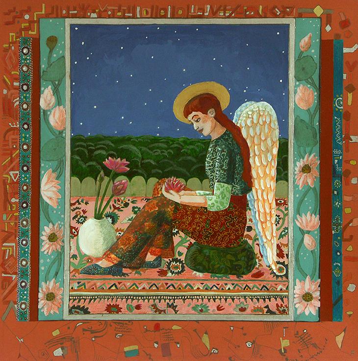 Meditation, Engel, Schutzengel, Liebe, ruhe, Lotos, Blume, Blüte, Lotosblume,
