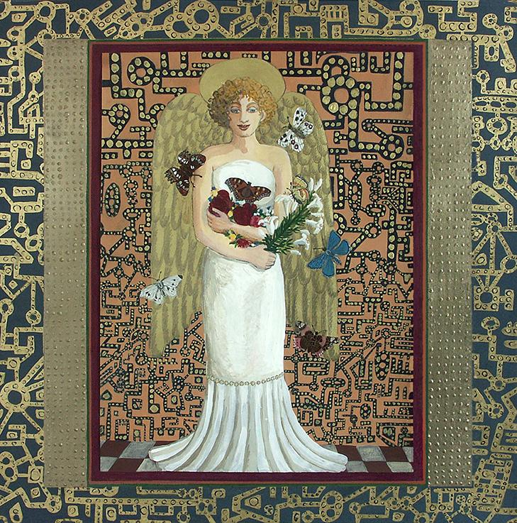 Engel, Schutzengel, Liebe, Friede, Blumen, Natur, Wiedergeburt, Schmetterlinge