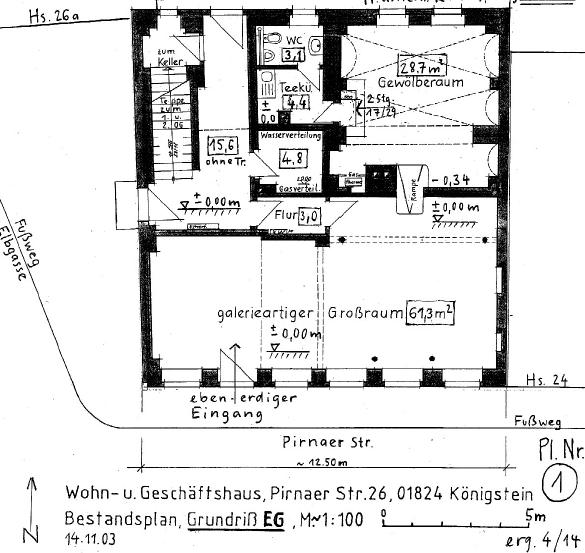 floor plan of the whole ground floor