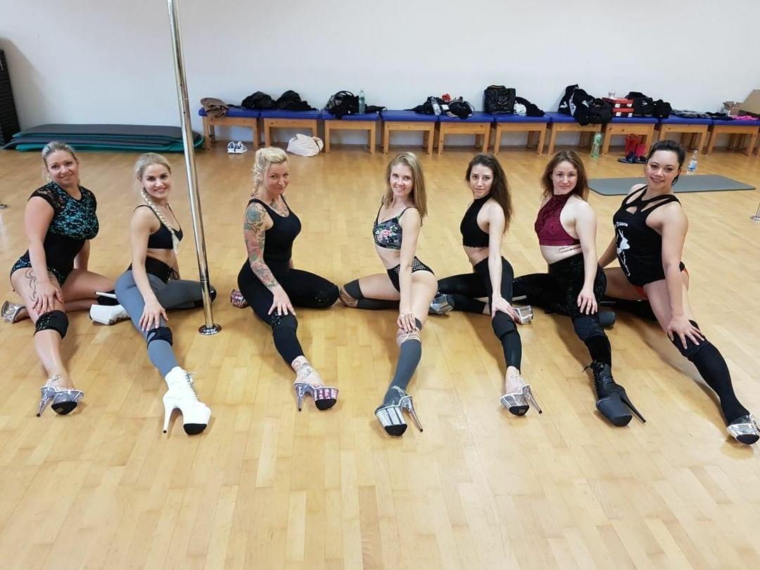 Gruppenbild Hot legs technique