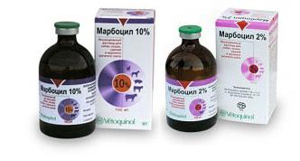 Марбоцил 2% и 10%