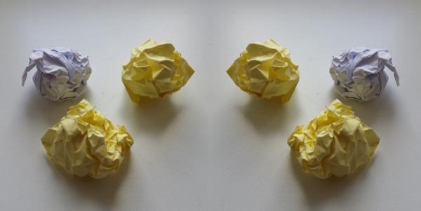 Selber gemachte Jonglierbälle