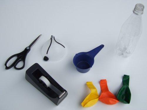 Material um Jonglierbälle zu Basteln