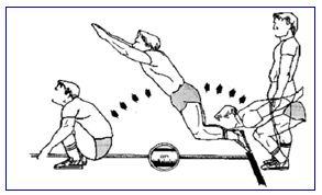 salto longitudinal en pruebas físicas para la policía nacional