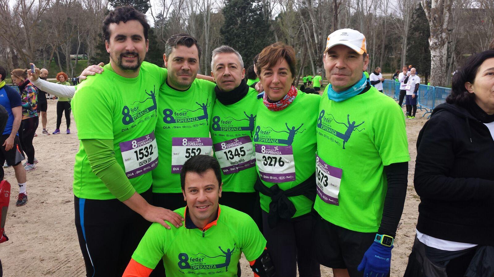 VIII Carrera por la Esperanza - EDP MADRID Centro deportivo