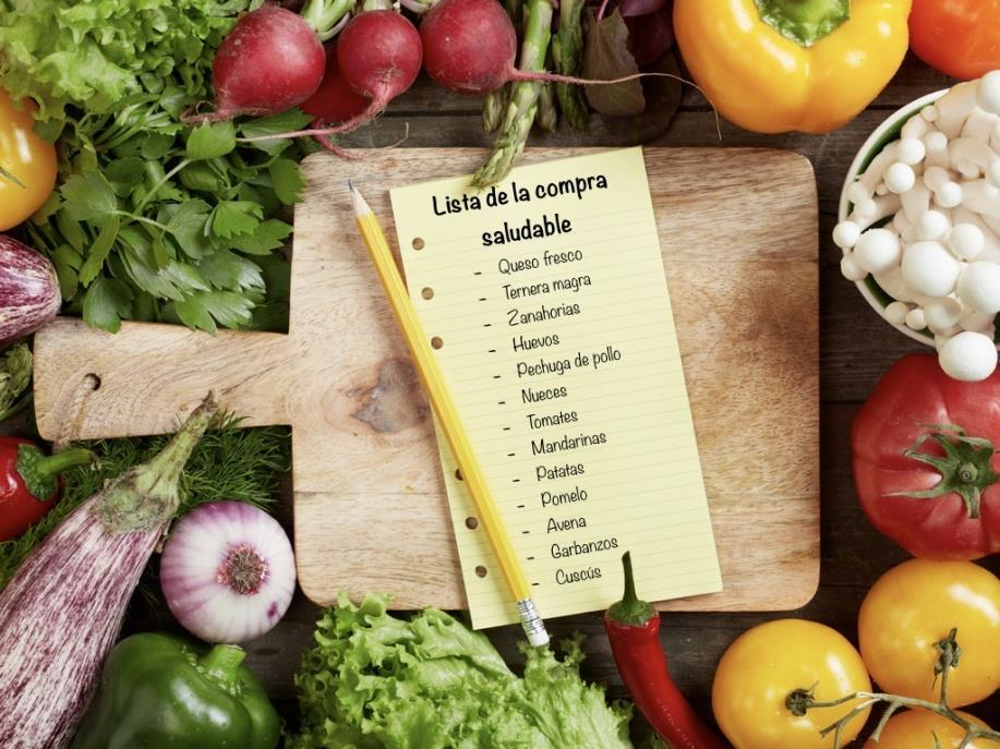 lista de compra saludable