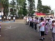 2011年7月3日に行われた日吉地区グラウンドゴルフ大会