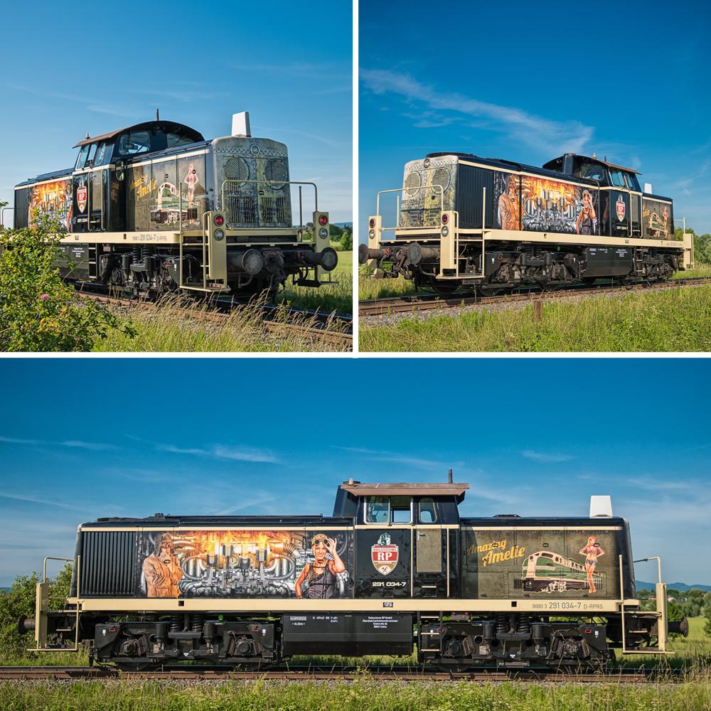 Railsystems RP Amazing Amelie V90 Lok