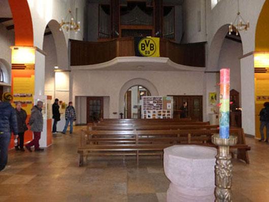 Dreifaltigkeitskirche Extratour zur Borussia  Fussball Fieber Dortmund