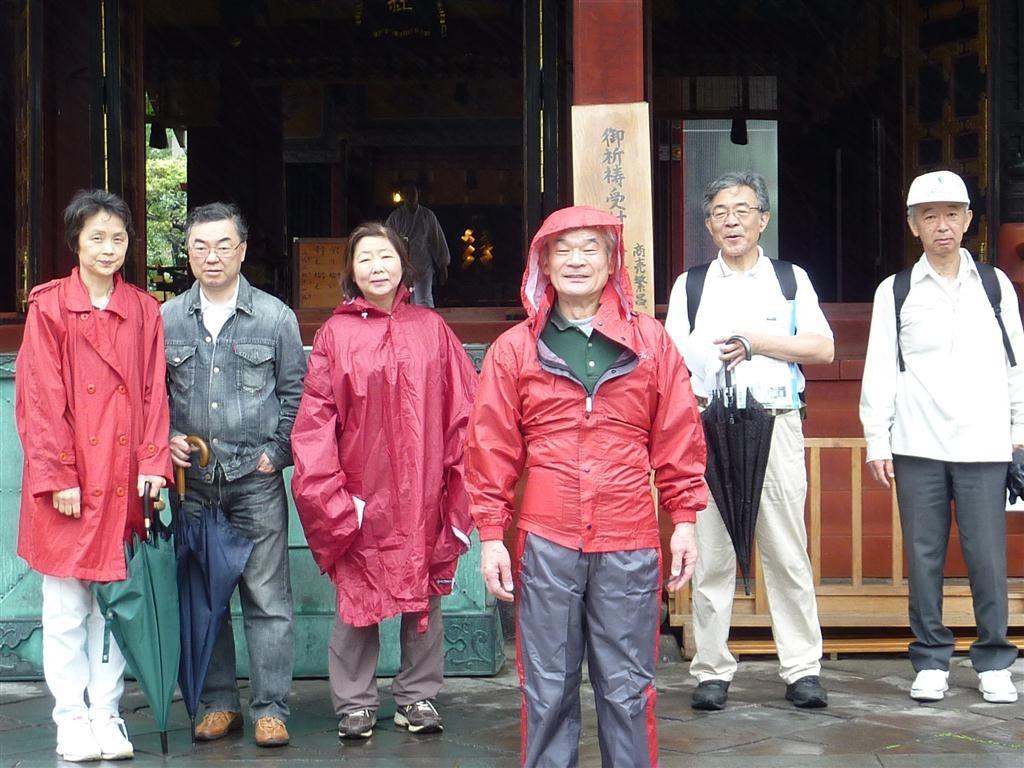 浅草神社でパチリ