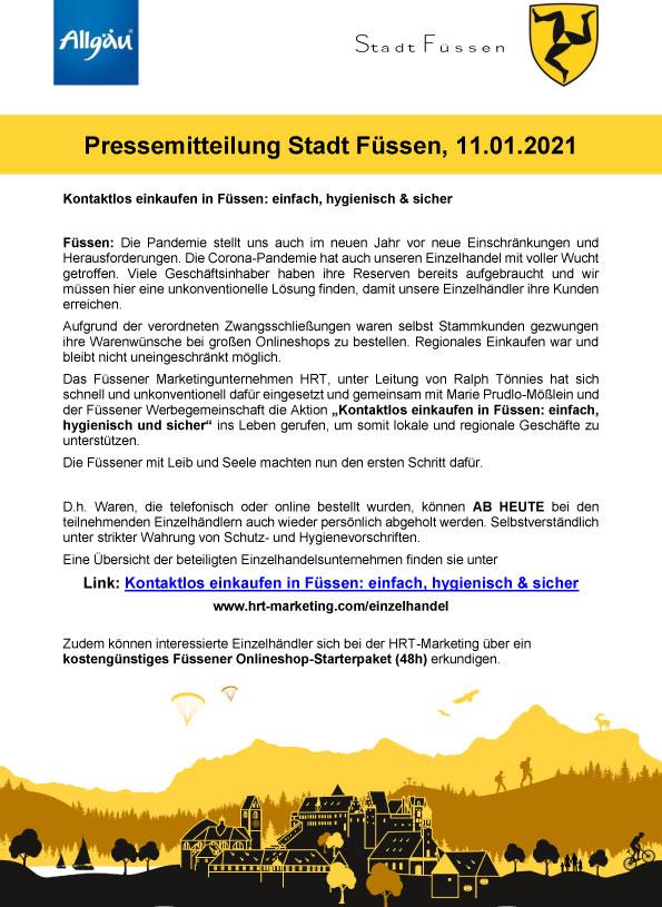 PR Stadt Füssen Seite 1