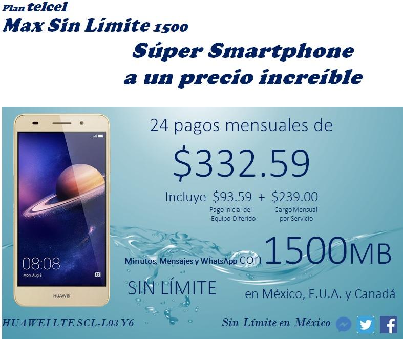 Huawei Lte Scl-l03 Y6
