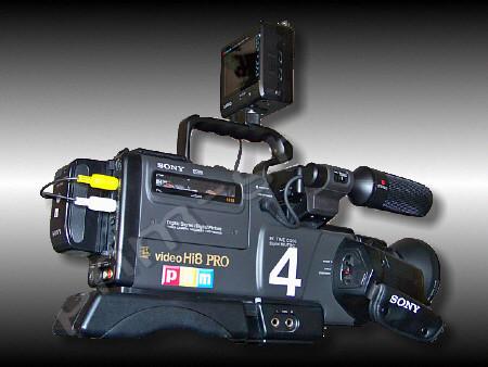 dann kam diese Sony CCD-V6000E Hi8