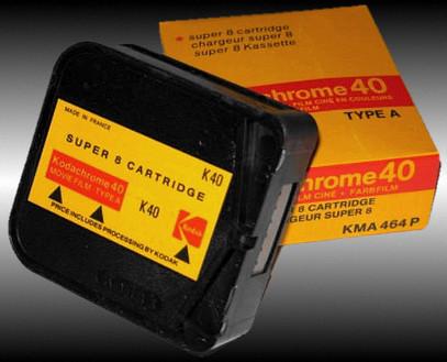 Kodak-Film, 15 m Kassette