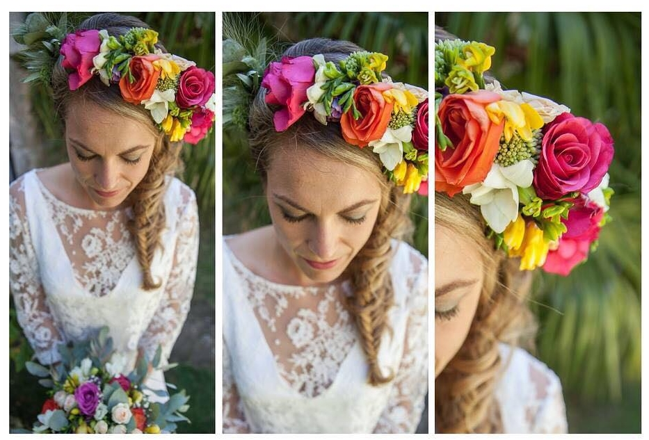 mariage bohème fleurs tzigane gypsy romantique