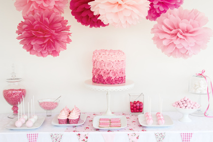 Décoration et sweet table candy bar baby shower Hérault