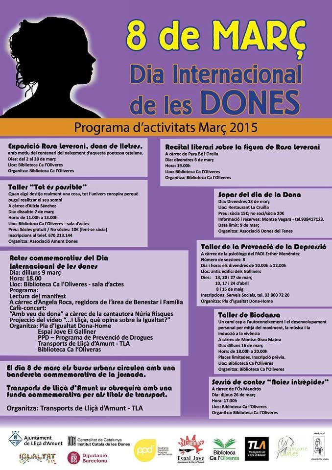 Biodansa Montse. Sessió Dia internacional de la dona