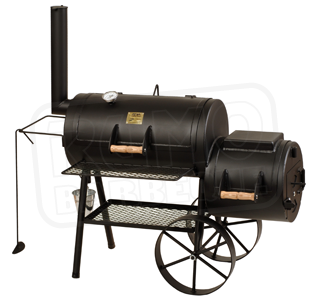 RUMO Joes Barbeque Smoker im Marks Grillhaus in Schleswig