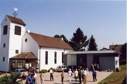 evangelische kirche in  Malsch