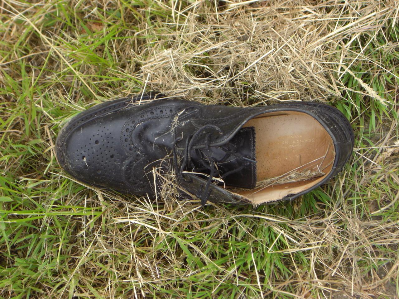 Wer verliert denn einen Schuh?