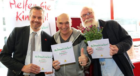Foto: Petra Schweim - Handelshof Geschäftsleitung Herr Sörensen, Peter Sebastian, John Langley