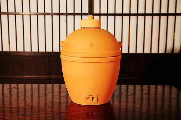 小田式ミニ蒸しかまど大・赤焼き