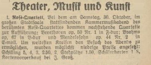 Tiroler Anzeiger, 26.10.1926. ÖNB