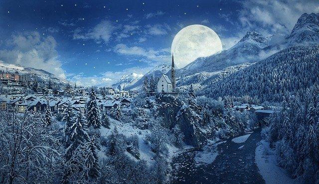 Vollmond-Schneemond in Jungfrau - die Heilung beginnt spontan und verbindet sich mit Gaia
