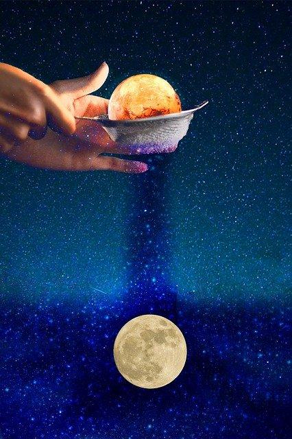 Neumond in Schütze - Totale Sonnenfinsternis, das Licht am Ende des Tunnels, Glaube und Wunder