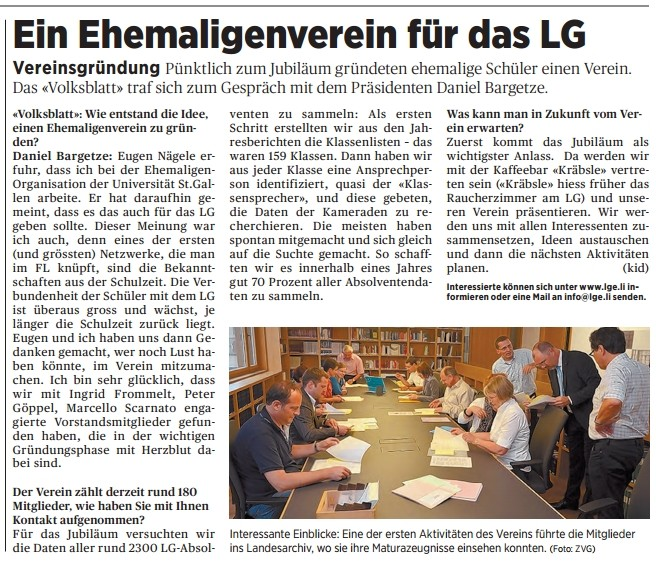Volksblatt-Bericht vom 14.9.12