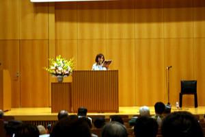 さいたま文学館・文学ホールにて講演