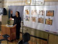 品川区立杜松小学校での講演
