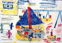 テレジン収容所の子どもたちが遺した絵