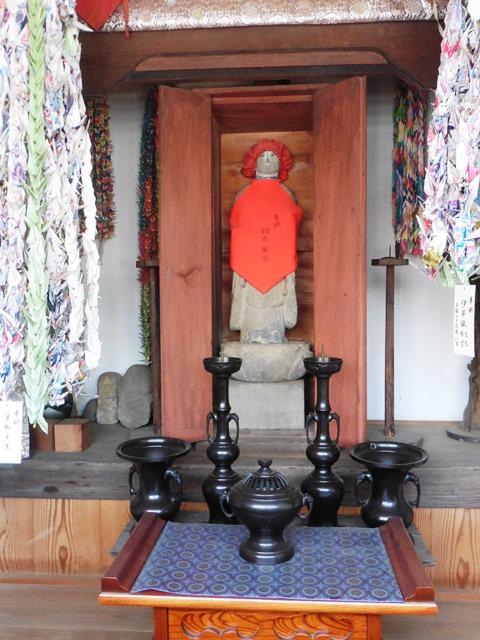 木崎宿の色地蔵