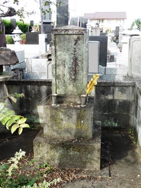 義民・小島文次郎の墓(大森院)