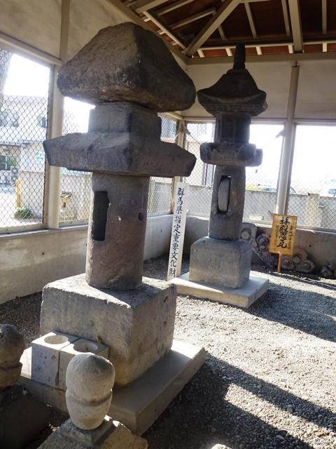 下植木赤城神社の石幢