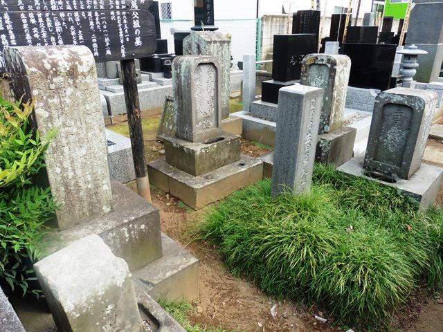 生田萬 父祖の墓(大道寺)