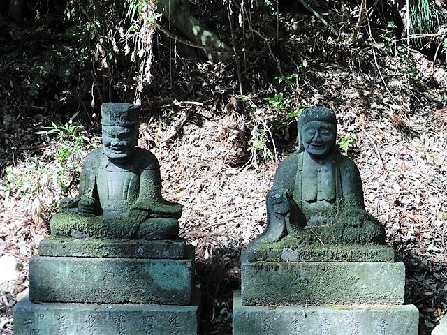 閻魔大王と奪衣婆(東円山観音堂)