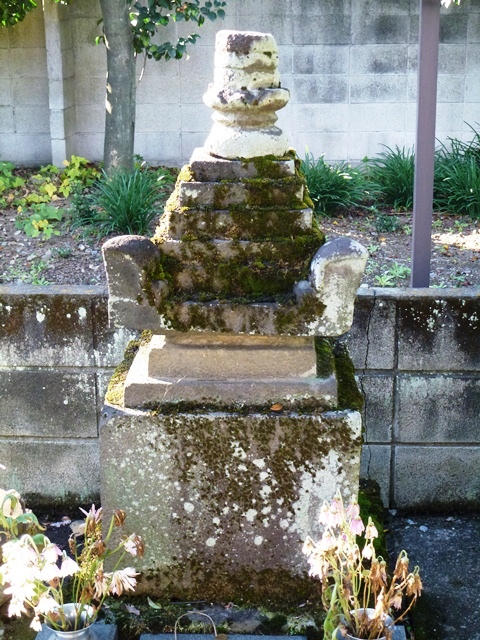 田中義清の墓(長慶寺)