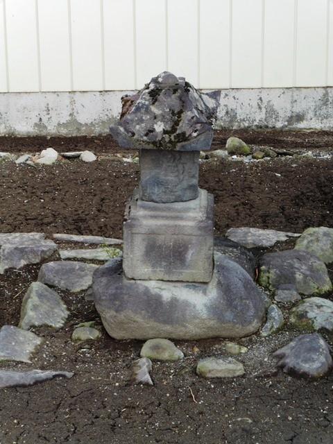 伝・由良国繁の墓(金龍寺)