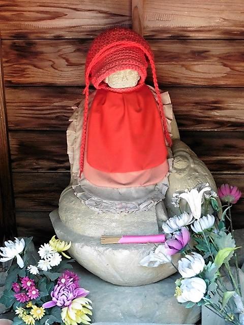 法林寺の願就地蔵
