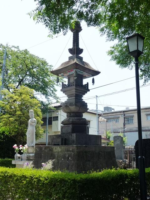 隆興寺の多宝塔