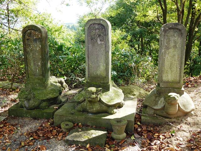 土岐家墓石(東禅寺)