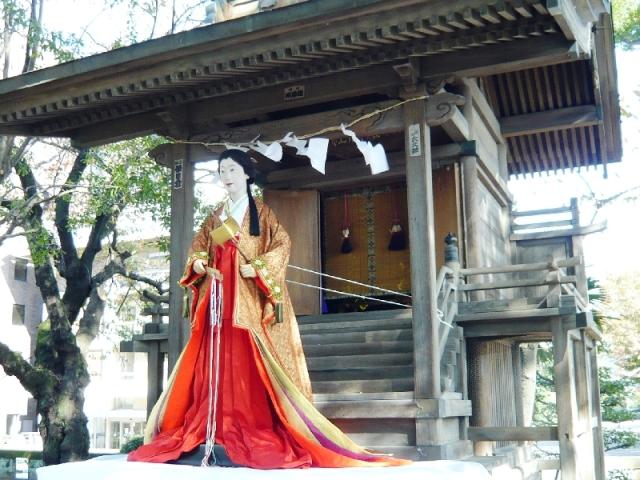 白滝姫(織姫神社)