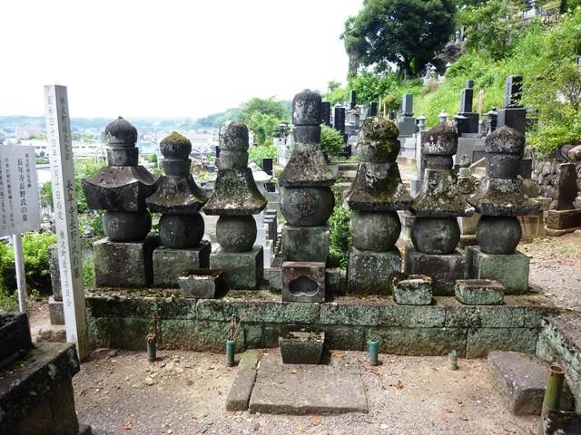 長野氏累代の墓(長年寺)