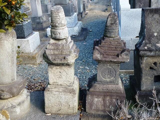 那波教元の墓(円福寺)