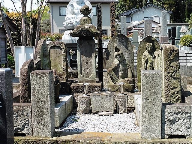 富岡氏末裔・野村孫兵衛及び累代の墓(宝寿院)
