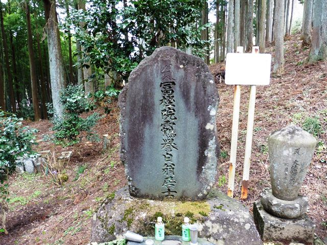 楳本法神の墓(医光寺)