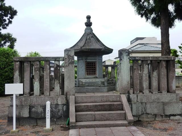 酒井忠世の墓(龍海院)