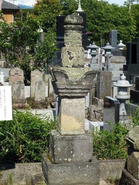 真田信政三男・信武の墓(成孝院)